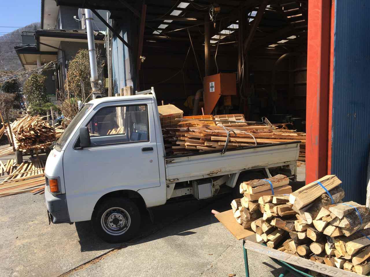 画像: 筆者行きつけの薪屋さん