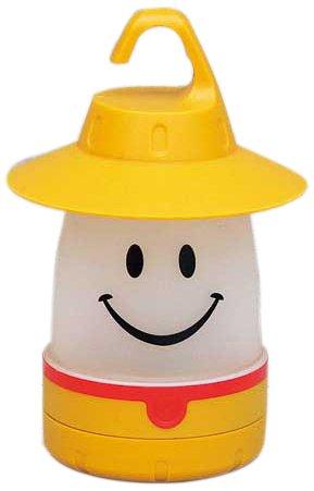 画像1: キャンプ用の照明はスマイルLEDランタン! 安くて可愛いデザインで子供におすすめ