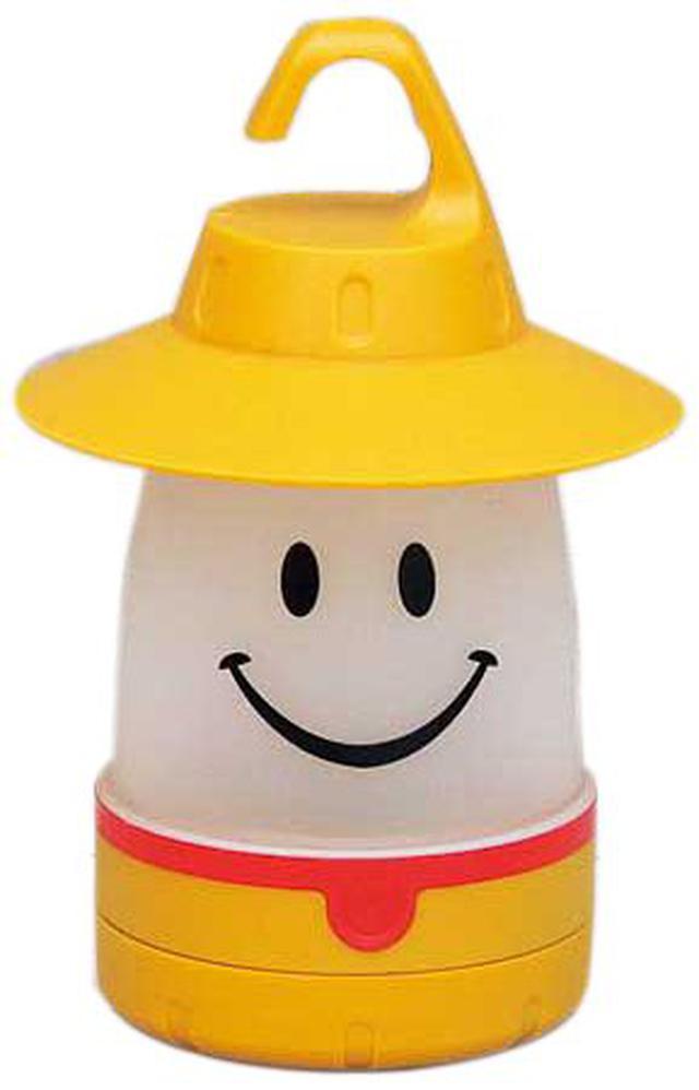 画像1: スマイルLEDランタンは子供用キャンプグッズ! 安くて可愛いデザインでおすすめ!