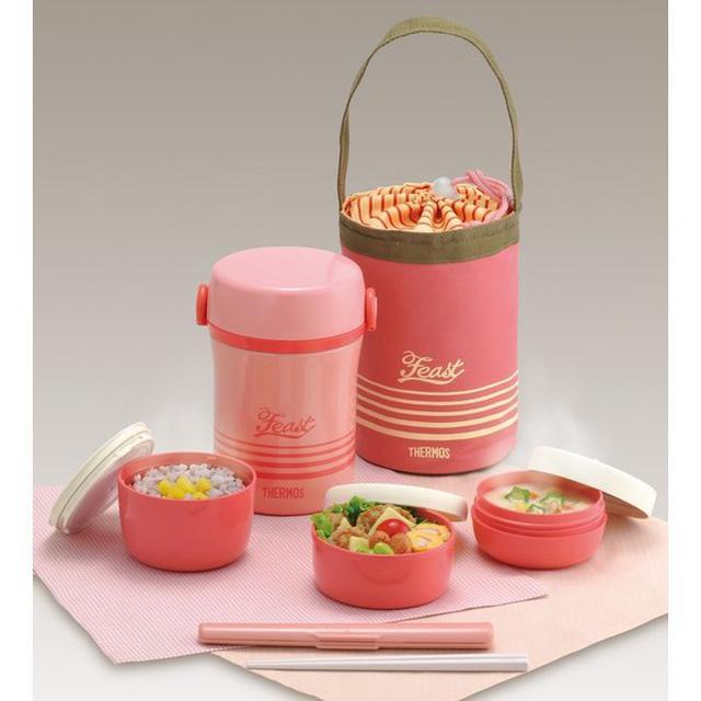 画像2: サーモスの保温弁当箱&ランチボックスおすすめ4選 春のピクニックやアウトドアに!