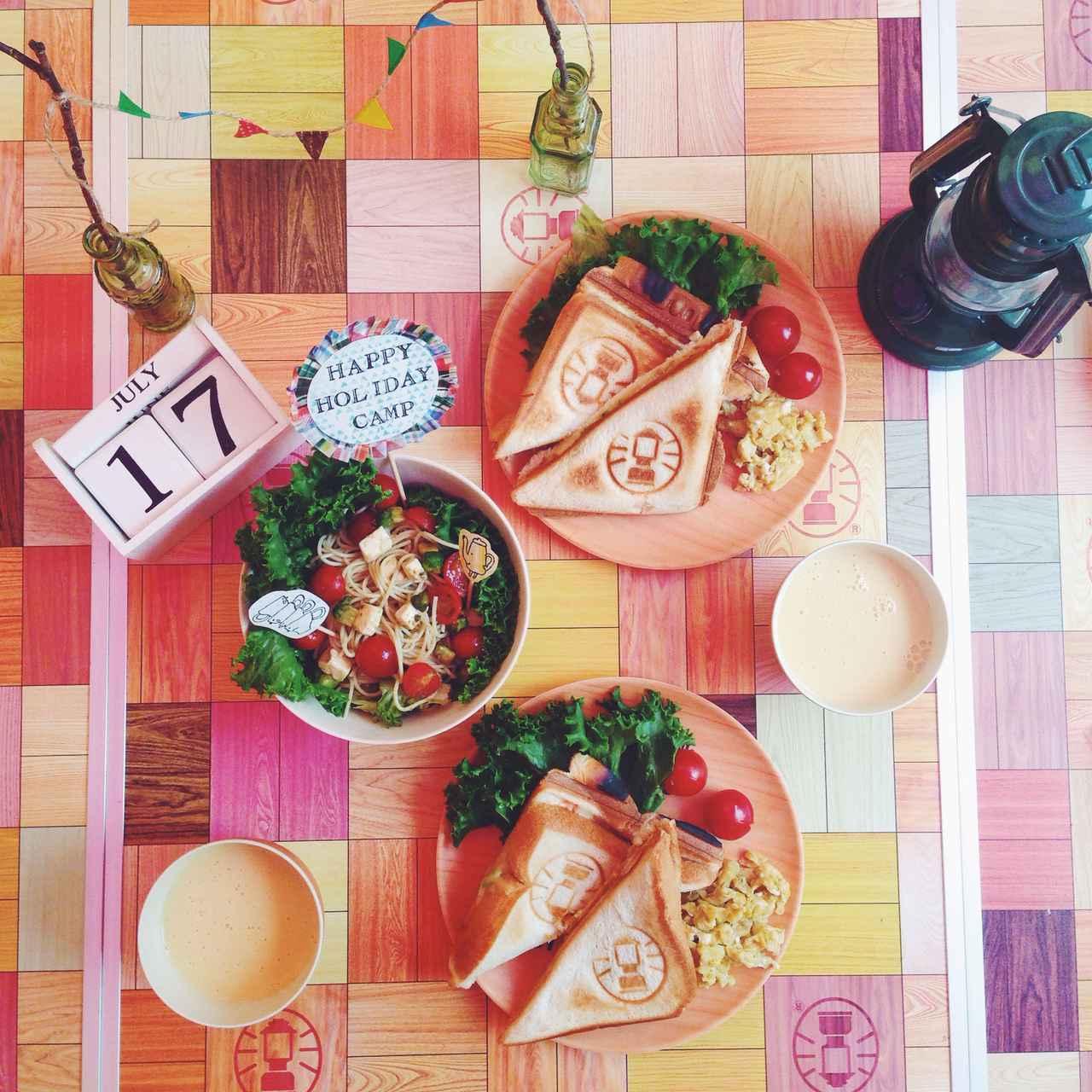 画像: 椅子付き&軽量で収納しやすい! 折り畳みアウトドアテーブルセットを持ってピクニックに出かけよう!