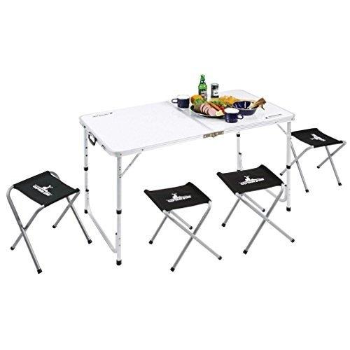 画像3: 折り畳み式、軽量アウトドアテーブル4選! ピクニックやデイキャンプなどにおすすめ
