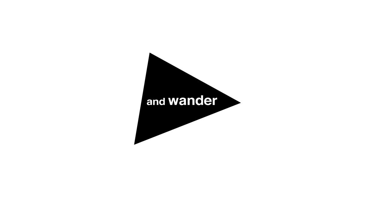 画像: and wander ONLINE STORE