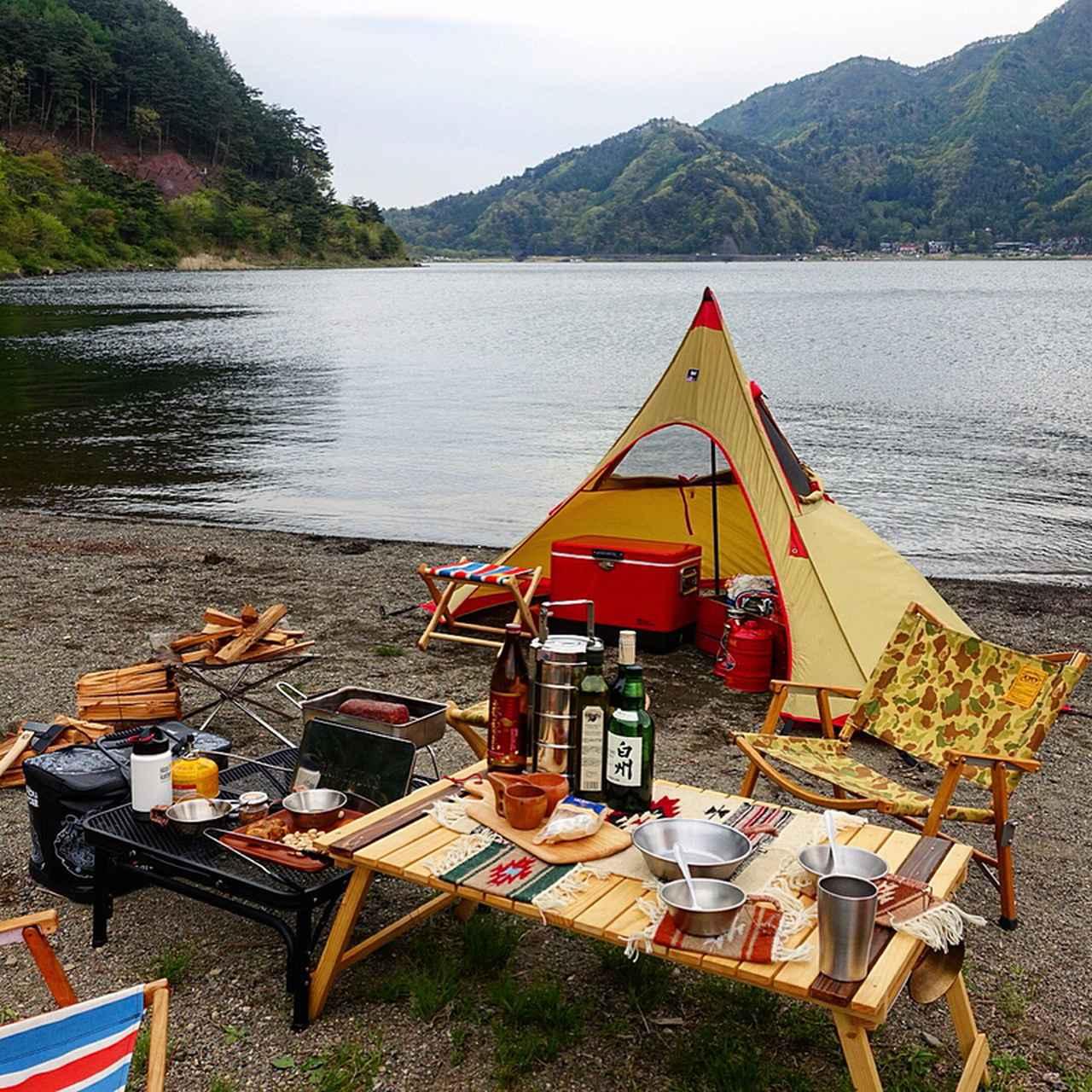 画像: ロースタイルキャンプの楽しみ方! ローテーブルにローチェアなどおすすめギア3選 - ハピキャン(HAPPY CAMPER)