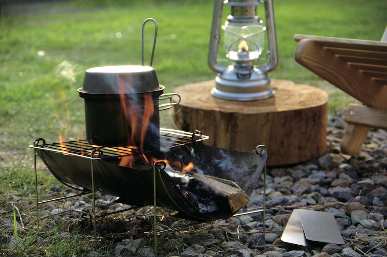 画像: 【注目リリース】「belmont(ベルモント)」からソロキャン向きの焚火台「TABI」と「リッドパン」が新登場! - ハピキャン(HAPPY CAMPER)
