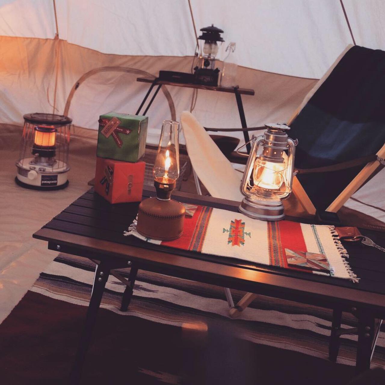 画像: テント内での薪・石油ストーブの使用は危険性が伴う! 冬キャンプは防寒対策・安全対策が重要!