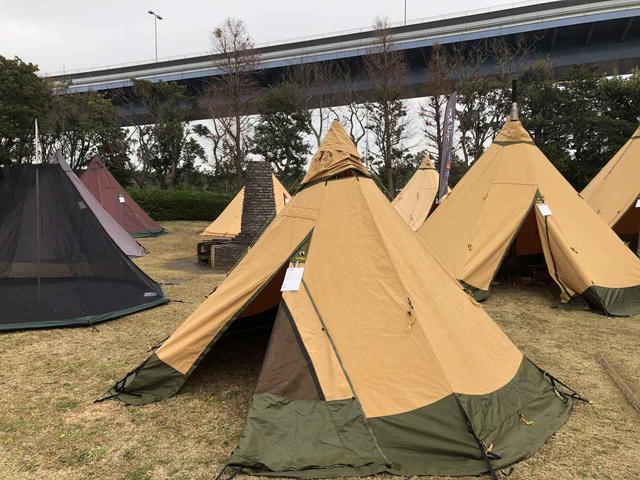 画像: 【潜入レポ】TOKYO TENT EXPERIENCE 合同テント展示会  「テンティピ」「ローベンス」など人気の3ブランドを紹介! - ハピキャン(HAPPY CAMPER)