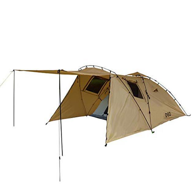 画像2: ソロキャンプ向けテントの選び方 DOD・コールマン・オガワなどおすすめテント6選