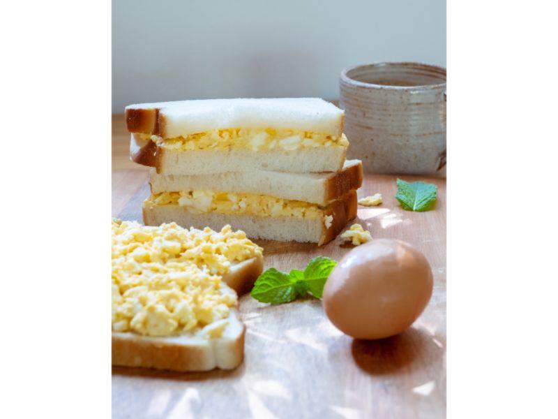 画像: レシピ4:玉子サンドイッチ