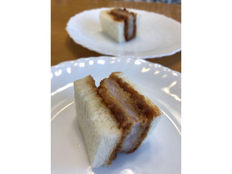 画像: レシピ5:とんかつのサンドイッチ