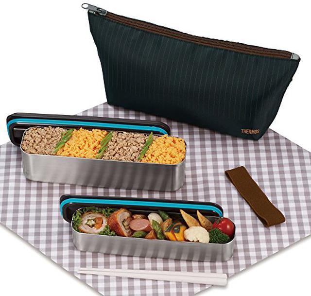 画像2: 【入園準備】弁当箱の選び方!アルミとステンレスの違いとは?ピクニックにもおすすめ