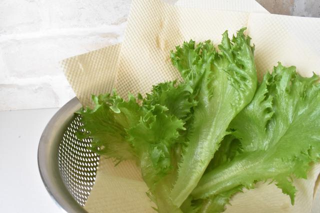 画像: 筆者撮影 サンドイッチ作りにキッチンペーパーは欠かせません。