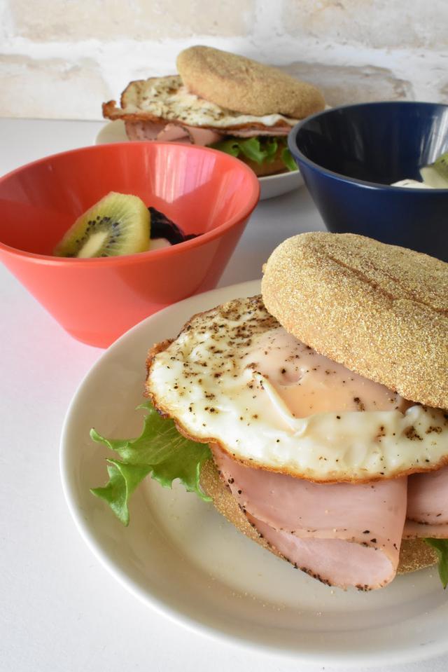 画像: 筆者撮影 ヨーグルトを添えると朝食にぴったり