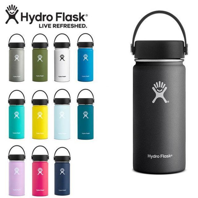 画像3: 【筆者愛用】おしゃれ水筒フラスク&ハイドロフラスク 炭酸飲料が入れられるタイプも