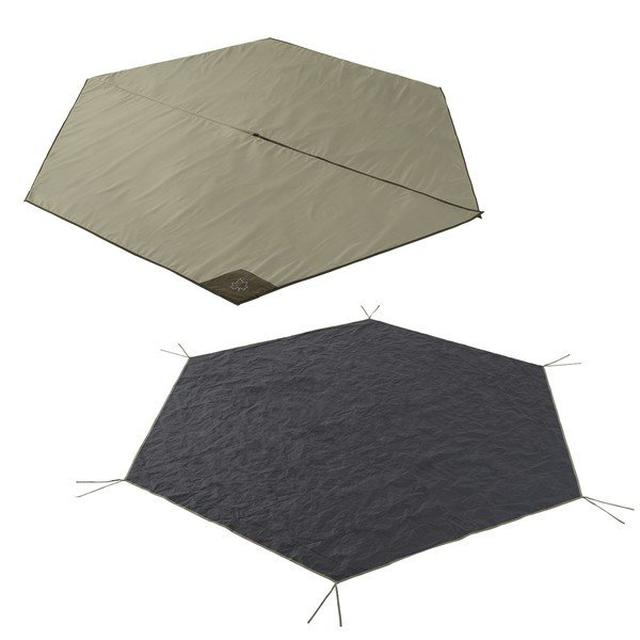 画像18: グランドシートをテントの下に敷こう! 3つの理由&正しい選び方&おすすめも紹介!