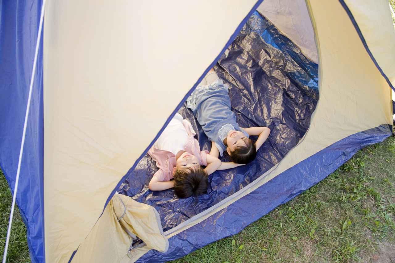 画像: 【グランドシートを使う理由】その①:テント底面が傷つくのを防止できる