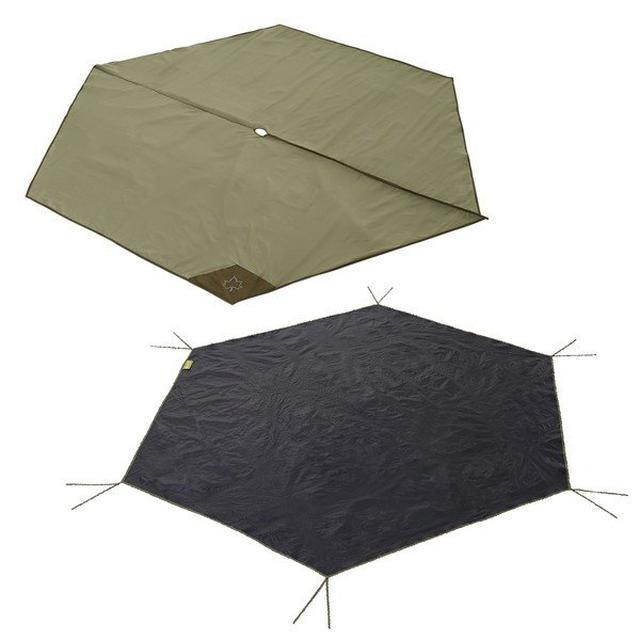 画像20: グランドシートをテントの下に敷こう! 3つの理由&正しい選び方&おすすめも紹介!