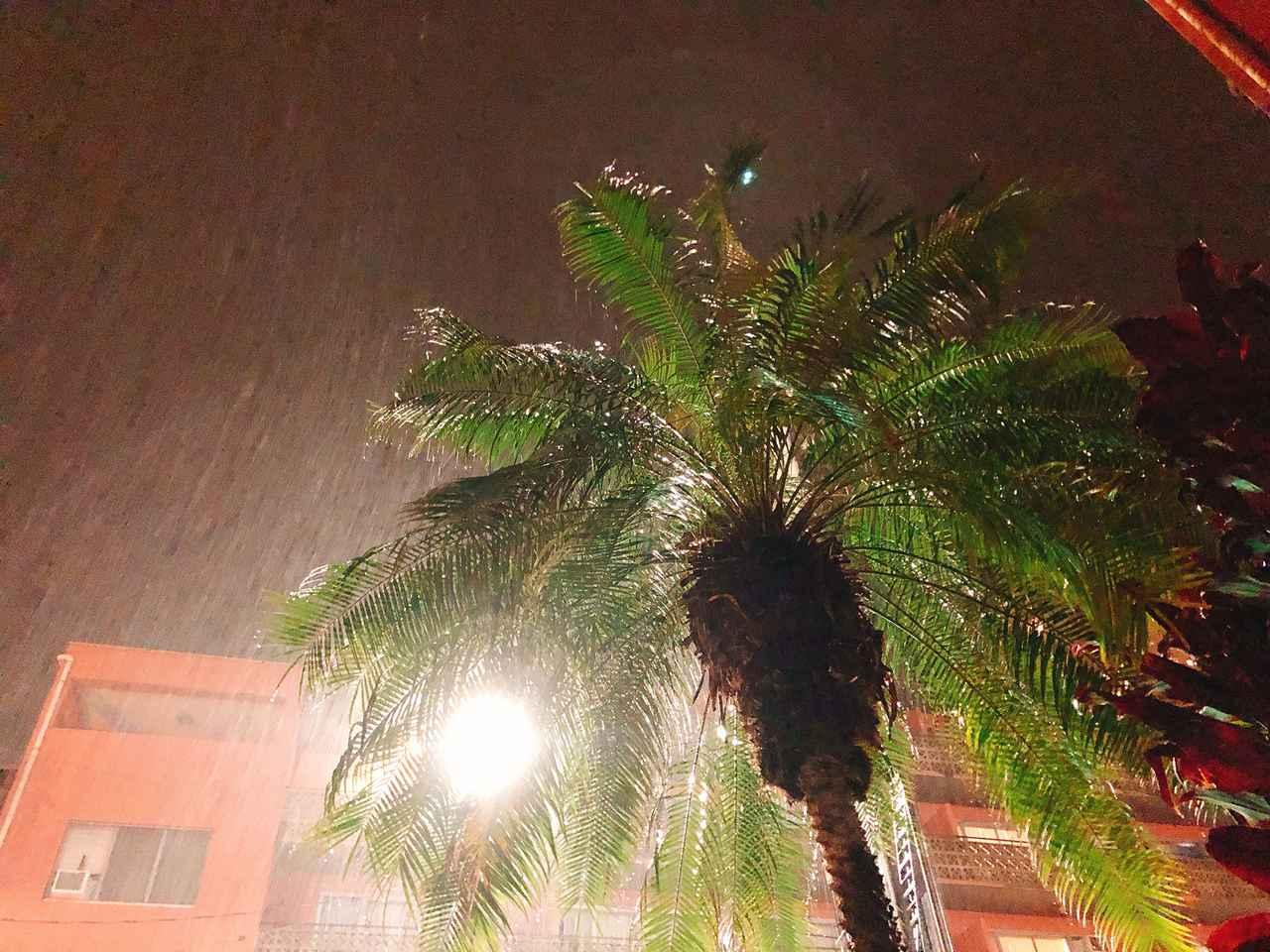 画像: 心得その④ 夜間の雷とスコールには要注意