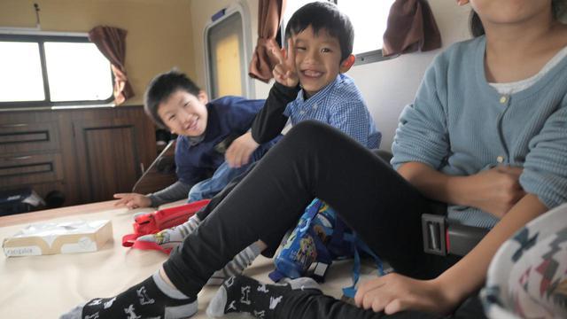 画像1: 冬におすすめ!家族で初めてのキャンピングカーレンタル!【行程編その1】 - ハピキャン(HAPPY CAMPER)