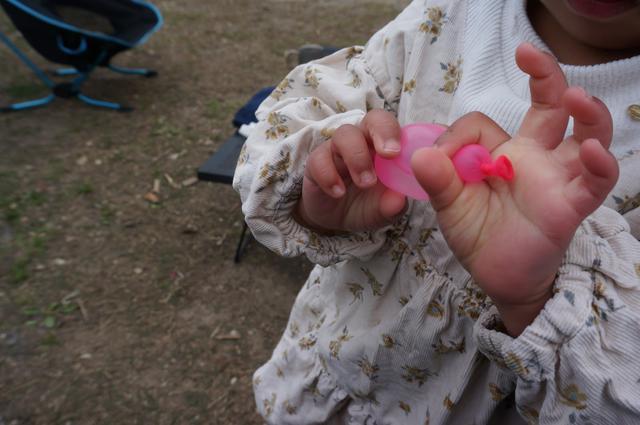 画像: 筆者撮影「小さな子供でも簡単に形を変えられて楽しい」