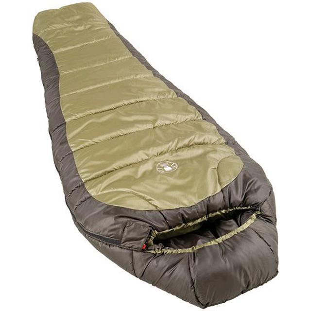 画像1: 【レビュー】コールマン寝袋「ファミリー2in1」を徹底解説! ファミキャンにおすすめ