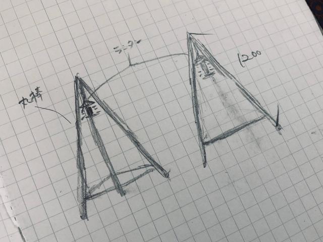 画像: 筆者提供:簡単なスケッチでイメージを書き出すと作りやすいです