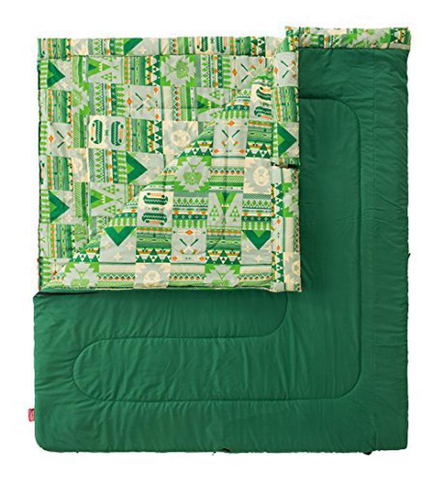 画像4: 【レビュー】コールマン寝袋「ファミリー2in1」を徹底解説! ファミキャンにおすすめ