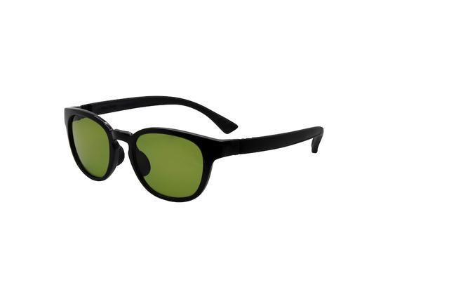 画像: BLACK×ACTIVE TEMPLE BLACK 出典:FLOAT http://www.float-glasses.com/set-galaxy/