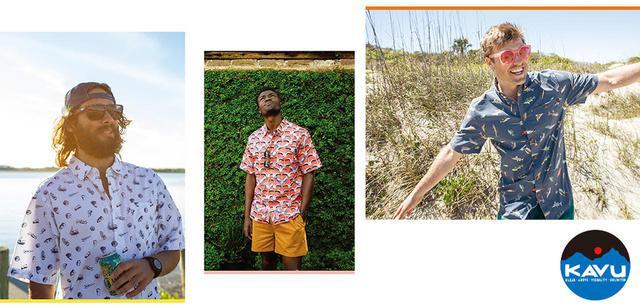 画像: 【注目リリース】2020年春夏モデル到着!KAVU(カブー)の新作シャツ&ショーツに熱視線! - ハピキャン(HAPPY CAMPER)