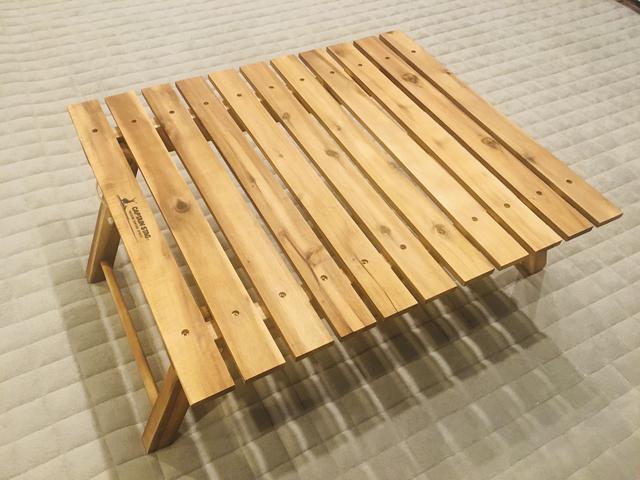 画像: ピクニック・行楽の持ち物③アウトドアテーブル