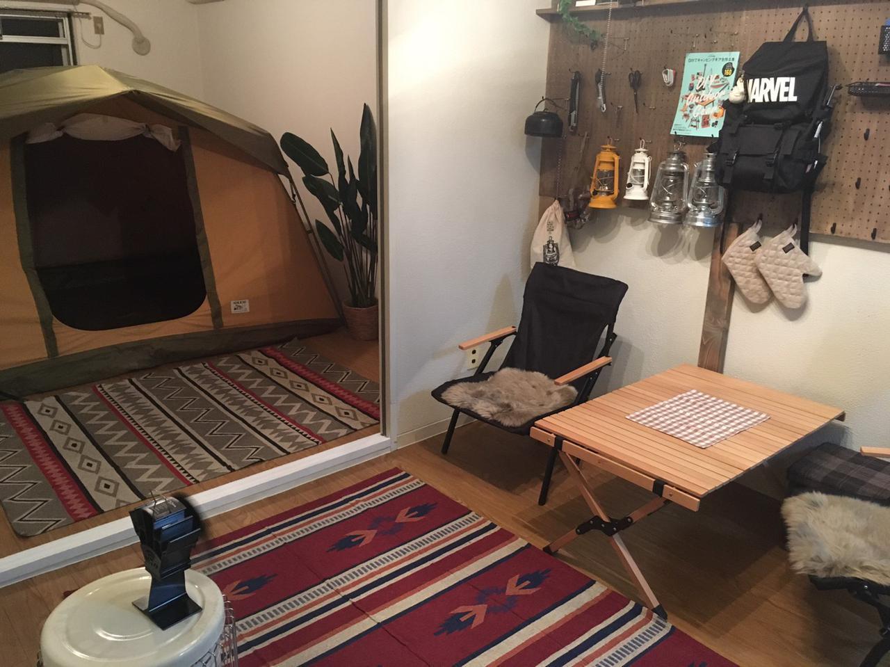 画像: 寒い冬はおうちで「部屋キャンプ」してみよう!家でも手軽にキャンプ気分を味わう方法を紹介 - ハピキャン(HAPPY CAMPER)