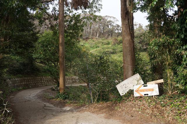 画像: 筆者撮影「第2キャンプ場への道は細いので注意」