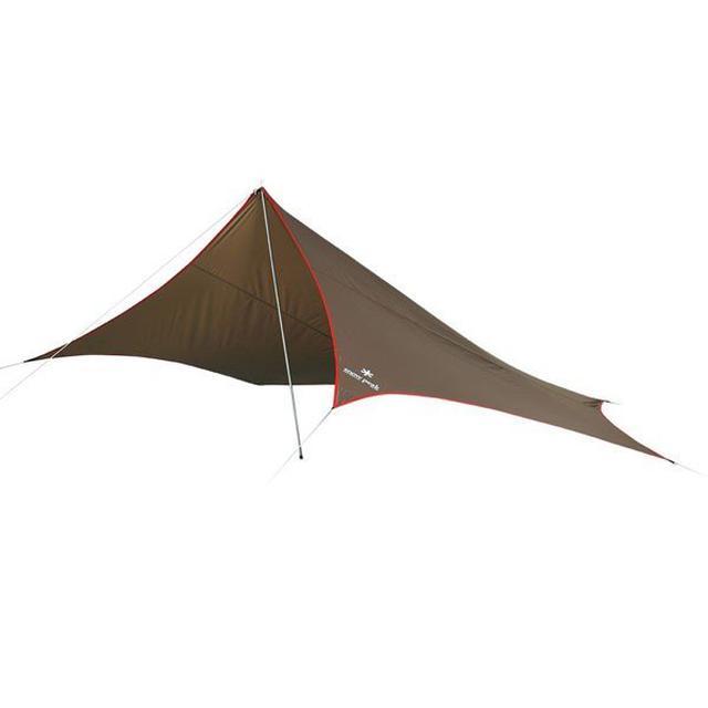 画像3: ソロキャンプにおすすめの1人用タープ6選&ポールを使った簡単にできる張り方も紹介