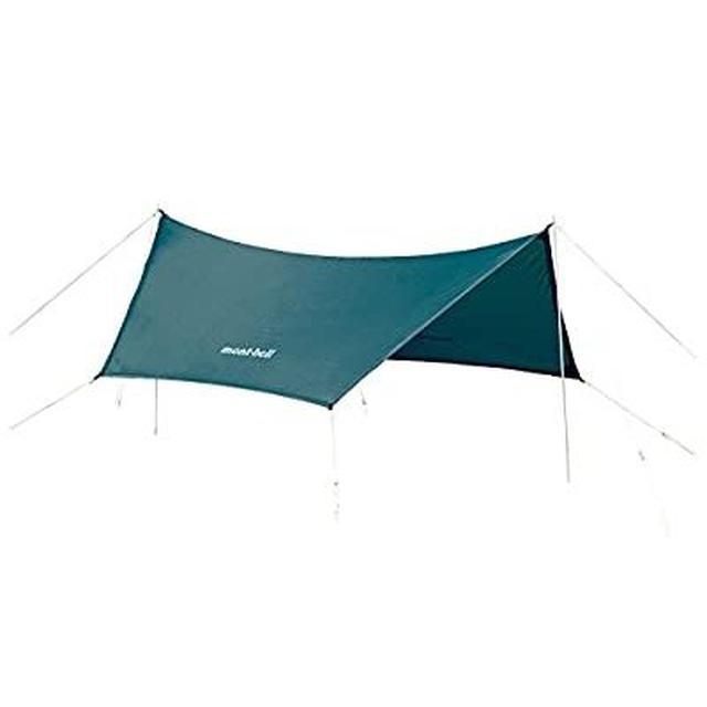 画像1: ソロキャンプにおすすめの1人用タープ4選&ポールを使った簡単にできる張り方も紹介