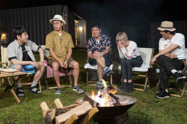 画像: 【番組ロケ密着】「おぎやはぎのハピキャン」豪華BBQと虹色の焚き火!グランピングを楽しみつくす(後編) - ハピキャン(HAPPY CAMPER)