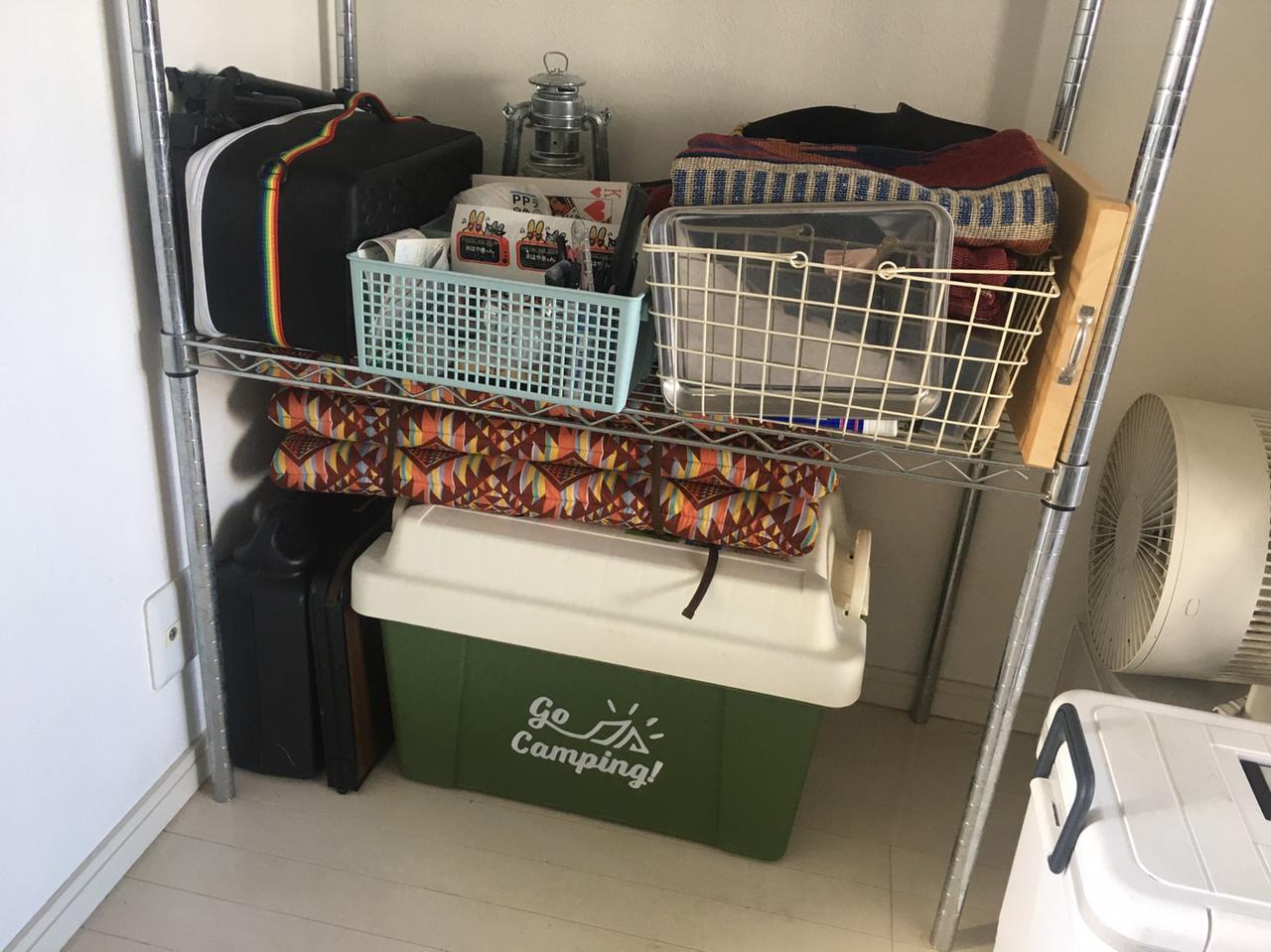 画像: 【実例紹介】自宅のキャンプ用品収納術や収納アイテムをご紹介! - ハピキャン(HAPPY CAMPER)