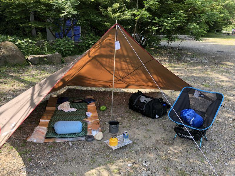 画像2: 【タープ選び方のポイント】ソロキャンプでは不要に感じる? 実は紫外線対策や雨対策に最適なアイテム