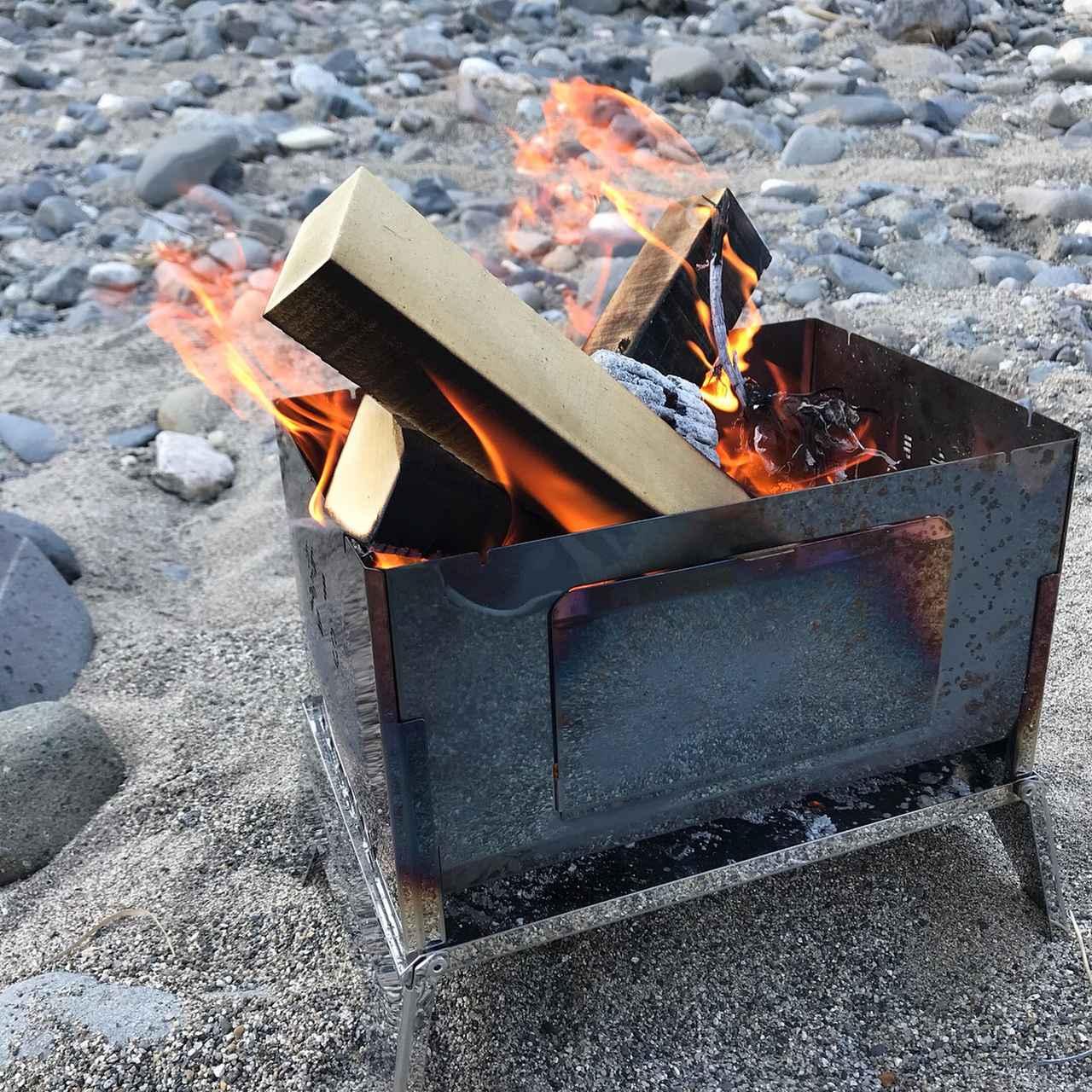 画像2: 【キャンプ初心者必見】「焚き火台」を使った焚き火のやり方を正しくマスターしよう