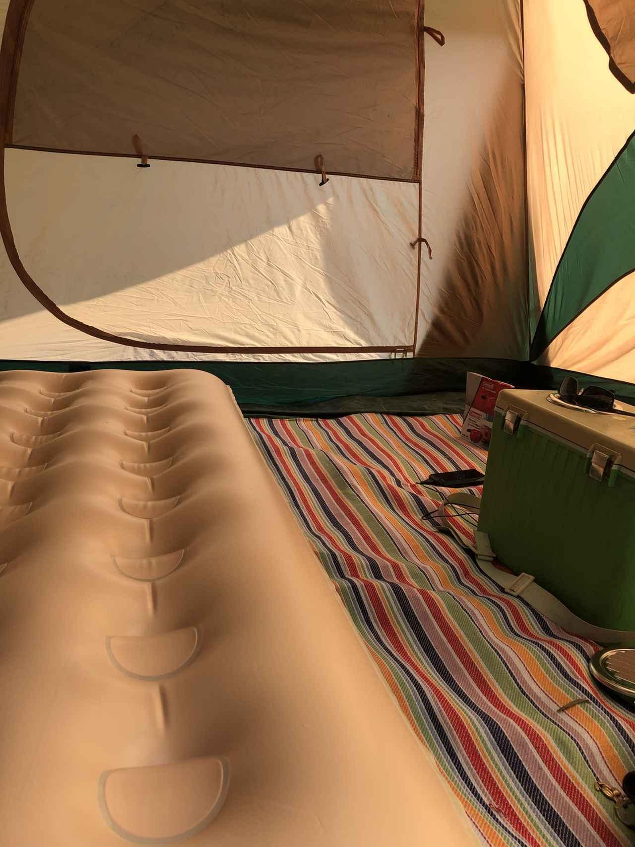 画像: エアーマットはキャンプ・登山のテント泊や車中泊の際に、家のベッドのように眠れておすすめ!