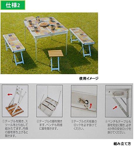 画像4: 【アウトドアテーブル】あなたはハイ or ローどっち派?スタイルで選ぶおすすめ5選