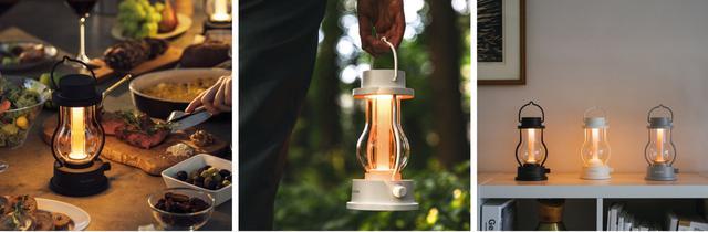 画像: 上から下へ光を照射する構造で、テーブルの上に置いても眩しさを感じさせない。 www.balmuda.com