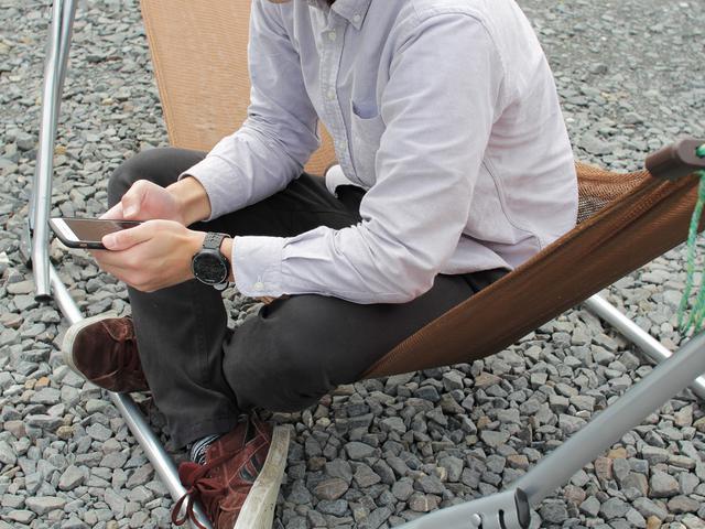 画像: 筆者提供:座り心地もよくて気に入ってます。