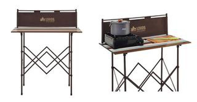 画像2: 【注目リリース】ベランピングにも!LOGOS(ロゴス)の「キッチンパーティーカウンター」なら、アウトドア料理が捗ります!