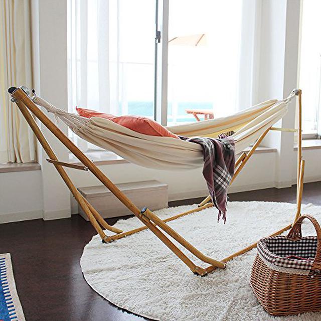 画像3: 【DIYハンモックスタンド&おすすめ3選】自作方法と室内でも使える商品をご紹介!