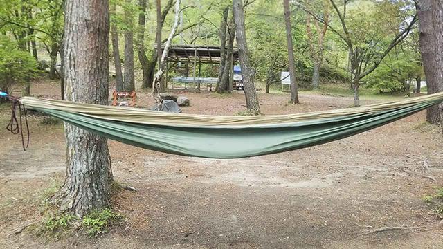 画像: 憧れの「初・ハンモック泊」 タープを使って、テント無しのソロキャンプを実現 - ハピキャン(HAPPY CAMPER)