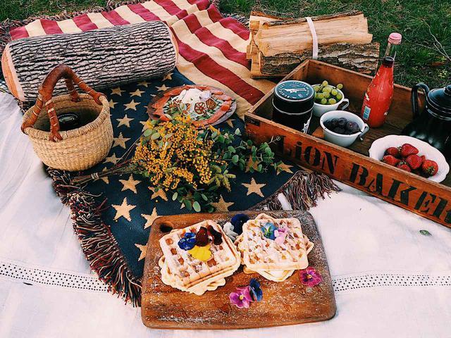 画像: イメージ画像 小物を活用すればピクニック気分も盛り上がる♪