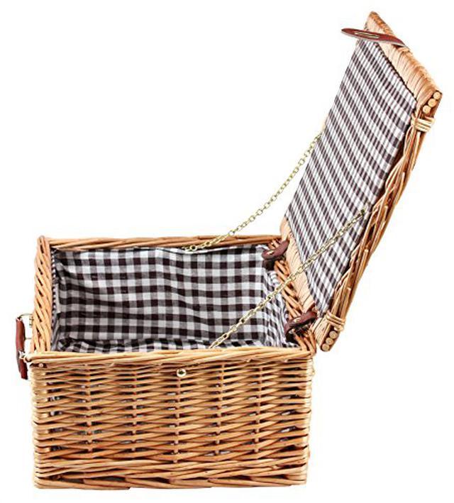 画像2: 【ベランダや庭でピクニック】おしゃれなバスケット・テーブル6選 折りたたみタイプも