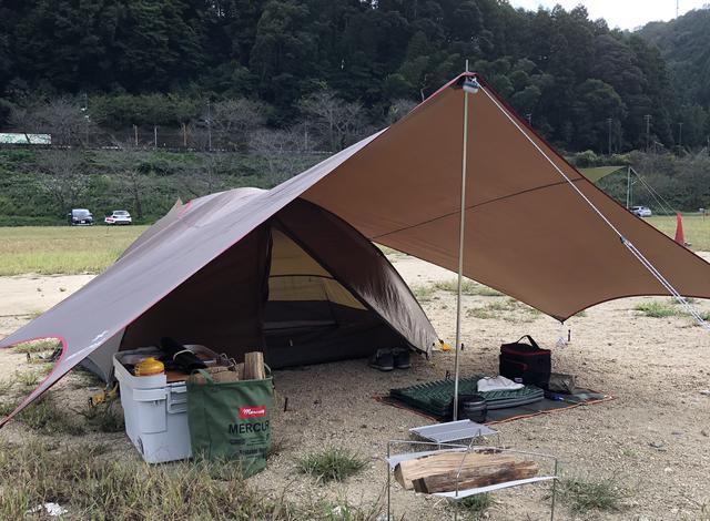 画像: タープを入れてソロキャンプを快適に! 簡単設営や張り方のバリエーション豊富なタープなどがおすすめ