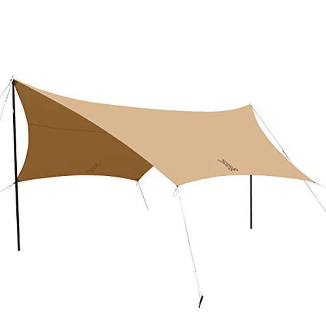 画像1: 【ソロキャンパー必見】一人で組み立てしやすい ソロキャンプ向きおすすめタープ7選