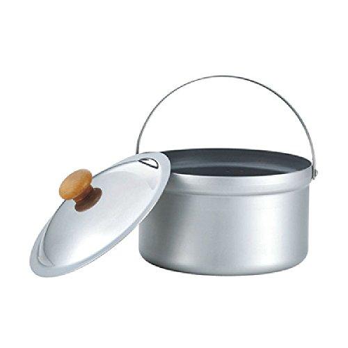 画像2: ユニフレーム『ライスクッカー』で炊飯 屋外で炊き立てご飯を食べよう!